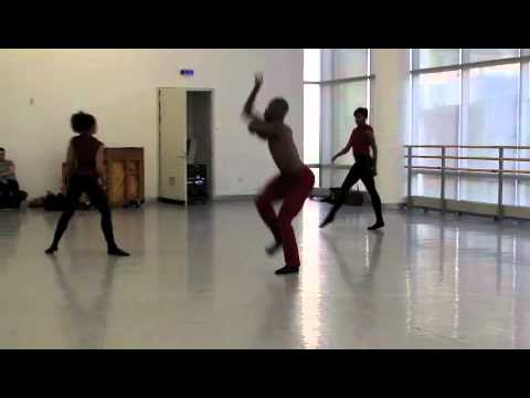 Rolle Project NYC Press Rehearsal - Tyrell Rolle