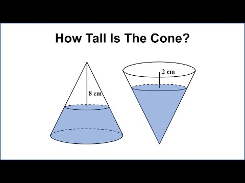 Challenge For 13 Year Olds - How Tall Is The Bottle?