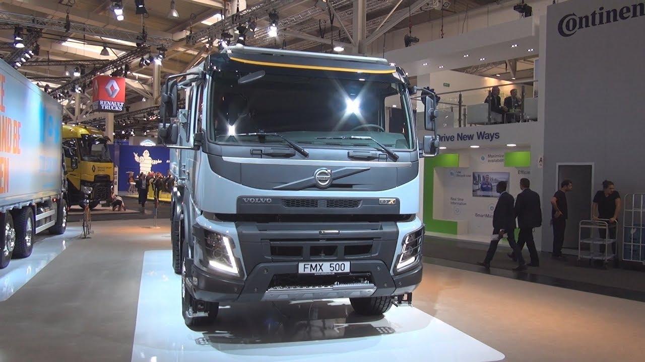 Volvo Fmx 500 6x4 Three Way Tipper Truck 2019 Exterior
