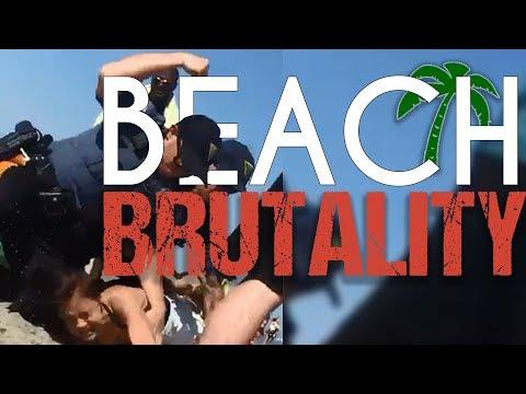 NJ Beach Police Brutally Assault Woman