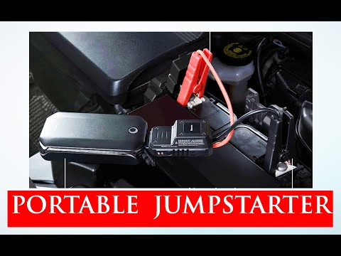 PORTABLE JUMP STARTER - BASEUS  (compact) I UNBOXING I FULL REVIEW