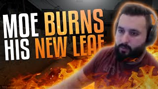 m0E BURNS HIS NEW LEAF! CS:GO