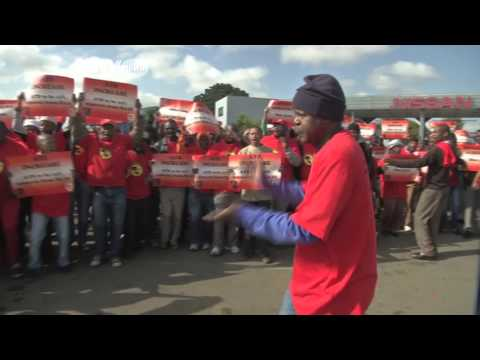 African Transport and Allied Workers Union go on wage strike in South Africa