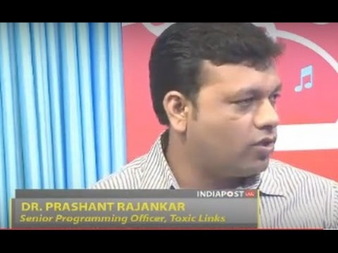 "Prashant Rajankar on ""IndiaPostLive"" for Organic India on 25 June 2014"