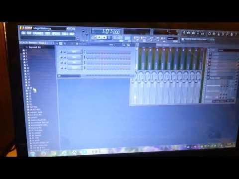 fl studio programı ile bilgisayarda org nasıl çalınır