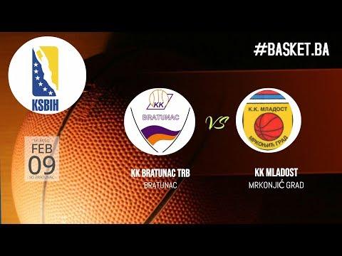LIVE ◘ KK Bratunac vs KK Mladost ◘ 2018/2019 ◘ 18 kolo