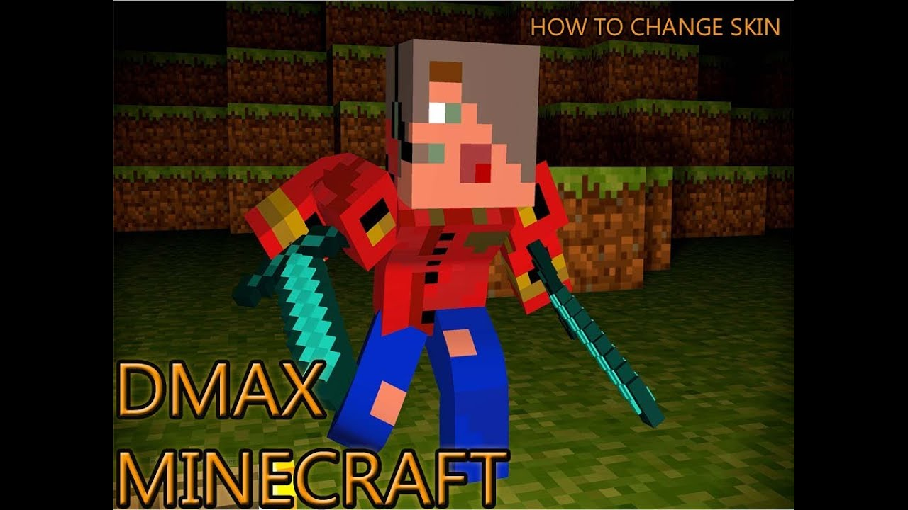 minecraft how to change player skin