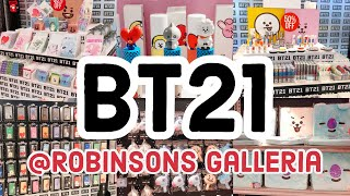 Bt21 Store @ Robinsons Galleria Philippines | Inventory Sale | February Update