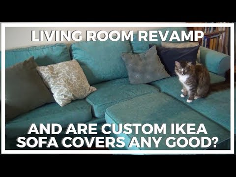 Living Room Revamp ♥ And Are Custom Ikea Furniture Covers Any Good?