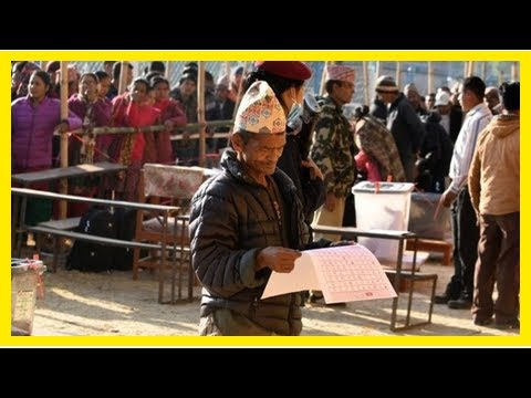 News-Nepal votes in the first post-cold war poll