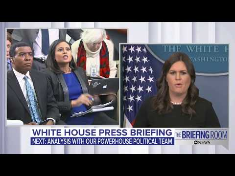 White House press briefing on Michael Wolff book, and Steve Bannon   ABC News