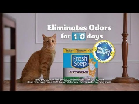 Tv Commercial Spot Fresh Step Extreme Cat Litter No