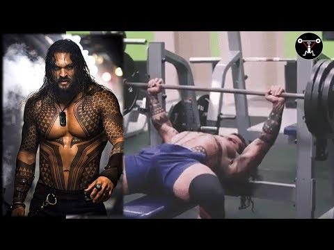Aquaman rutina de ejercicios superior, Jason Momoa