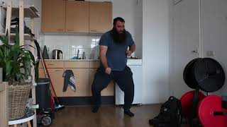 Martial arts training Training for very hard right hammer fists 4