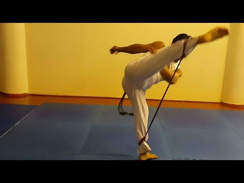 How to train faster and stronger CAPOEIRA KICKS - YouTube