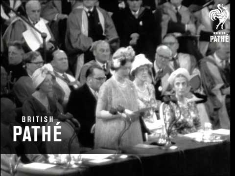 Tercentenary Of The Royal Society AKA Queen At Tercentenary Of Royal Society (1960)