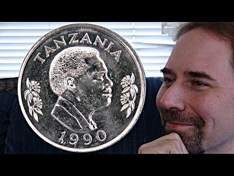 Tanzania 50 Senti 1990 Coin