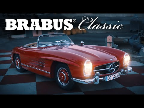 BRABUS Classic 300 SL Roadster in Monaco | Cinematic 2