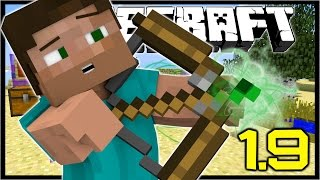 Minecraft 1.9 | HOW TO Make Potion Arrows,  Lucky Potion, End Crystal Craft | Snapshot 15w44b
