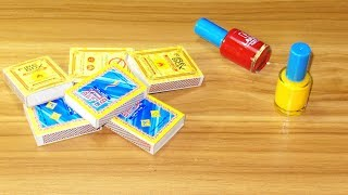 Waste Matchbox reuse idea | Best out of waste | DIY arts and crafts |