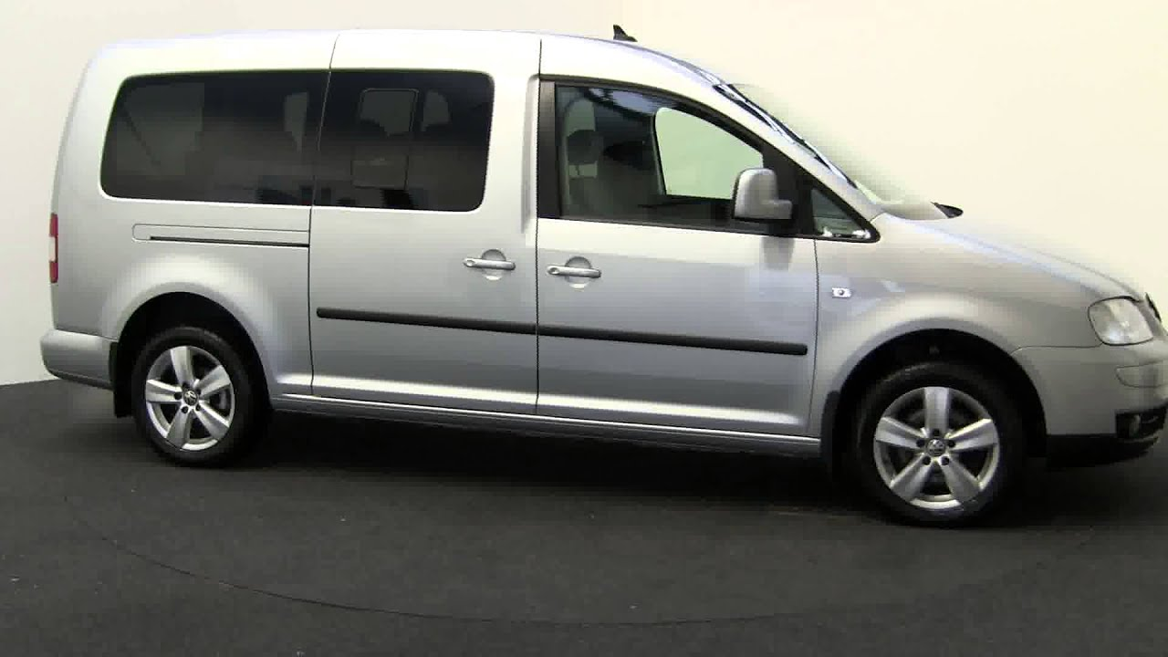2009 volkswagen caddy maxi life tdi youtube. Black Bedroom Furniture Sets. Home Design Ideas