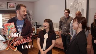 Marie Kondo Helps Jimmy Kimmel Tidy Up