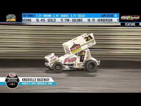 Knoxville Raceway Capitani Classic Highlights - August 4, 2019