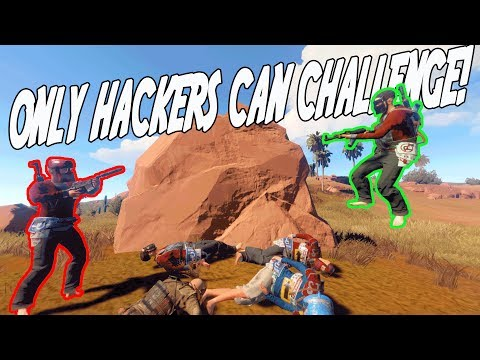 Only HACKERS Could CHALLENGE Me! (Rust)