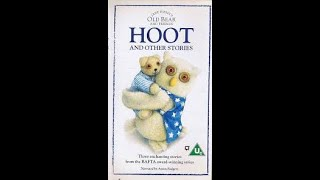 Jane Hissey's Old Bear and Friends - Hoot and Other Stories VHS 1996