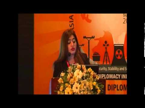 Dr Maria Sultan, Director General, South Asian Strategic Stability Institute, Pakistan