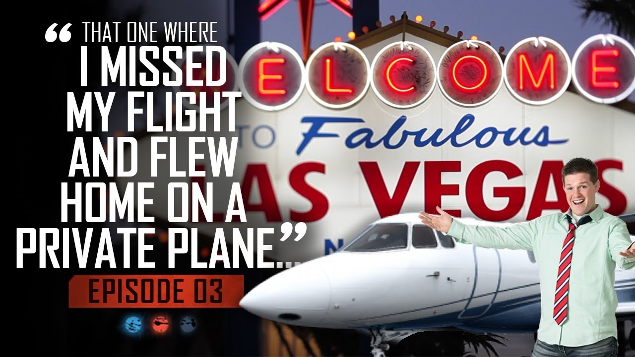 That one where I missed my flight and flew home on a private plane... Funnel Hacker TV - Episode 03