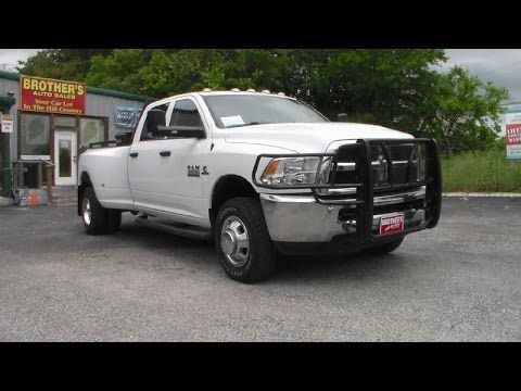 2014 (Dodge) Ram 3500 Dually Tradesman Cummins Review