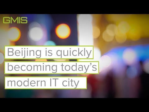 Beijing is becoming today's IT city