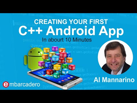 Creating Your First C++ Android App