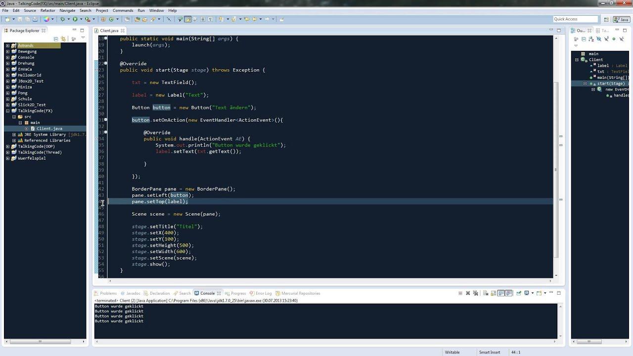 JavaFX Tutorial #6 - TextField