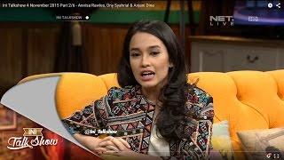 Ini Talkshow 4 November 2015 Part 2/6 - Annisa Rawles, Ony Syahrial & Anjani Dina