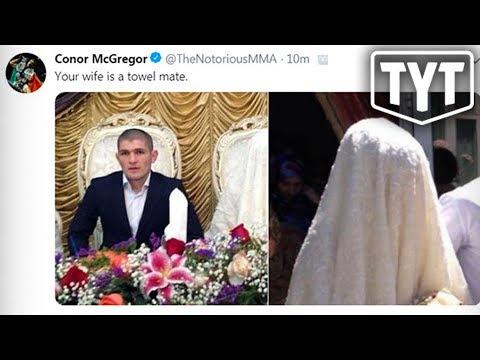 Conor McGregor Posts Bigoted Tweet About Khabib's Wife