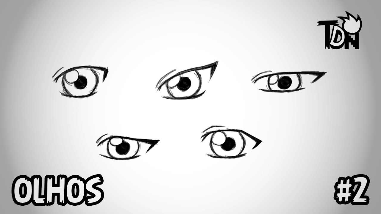 Tdn Desenhar Olhos Manga Anime Basico Youtube