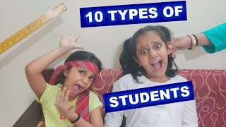 10 Types Of Students | Types of kids | Short movie for Kids #Kids #funny