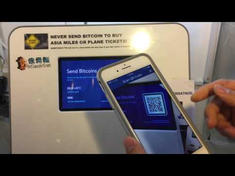 How To Sell Bitcoin At HK Bitcoin ATM - July 2017