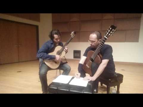 Denis Azabagic teaches Tocatta a Pasquini, 3rd movement from Sonata by Leo Brouwer, part 2