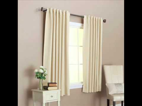 Solid Thermal Insulated Back Tab Blackout Curtain; best insulated ...