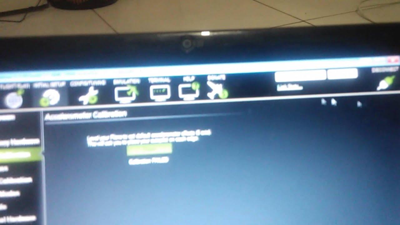 pixhawk 3dr calibration accelerometer failed