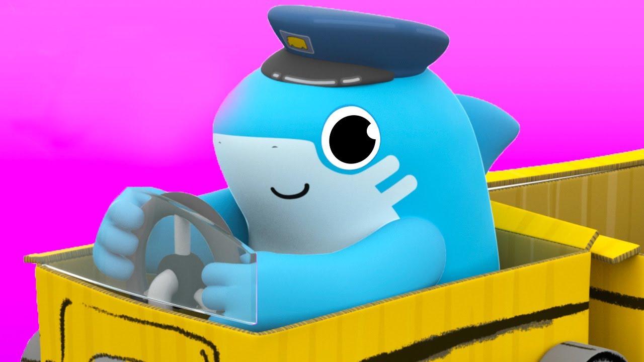 As Rodas do Ônibus  - Shark Academy | O Reino Infantil