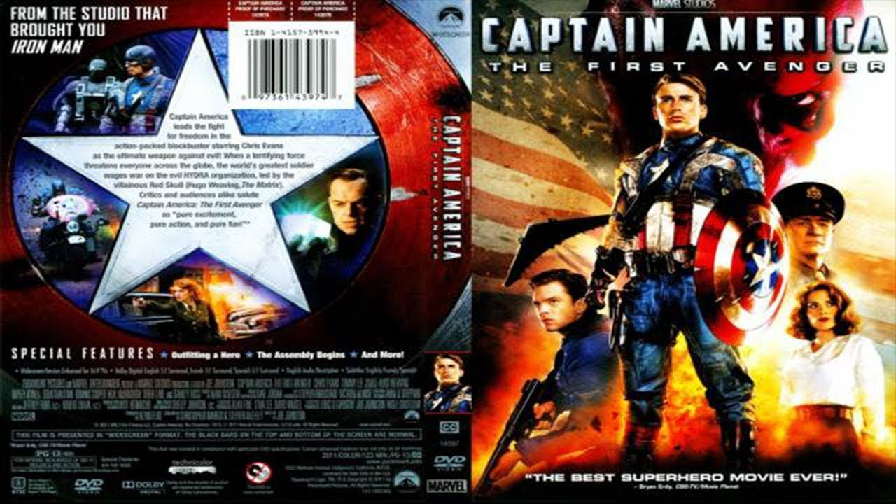 Opening Captain America The First Avenger 2011 Dvd Youtube