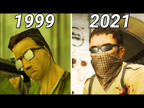 Evolution Of Counter-Strike 1999-2019