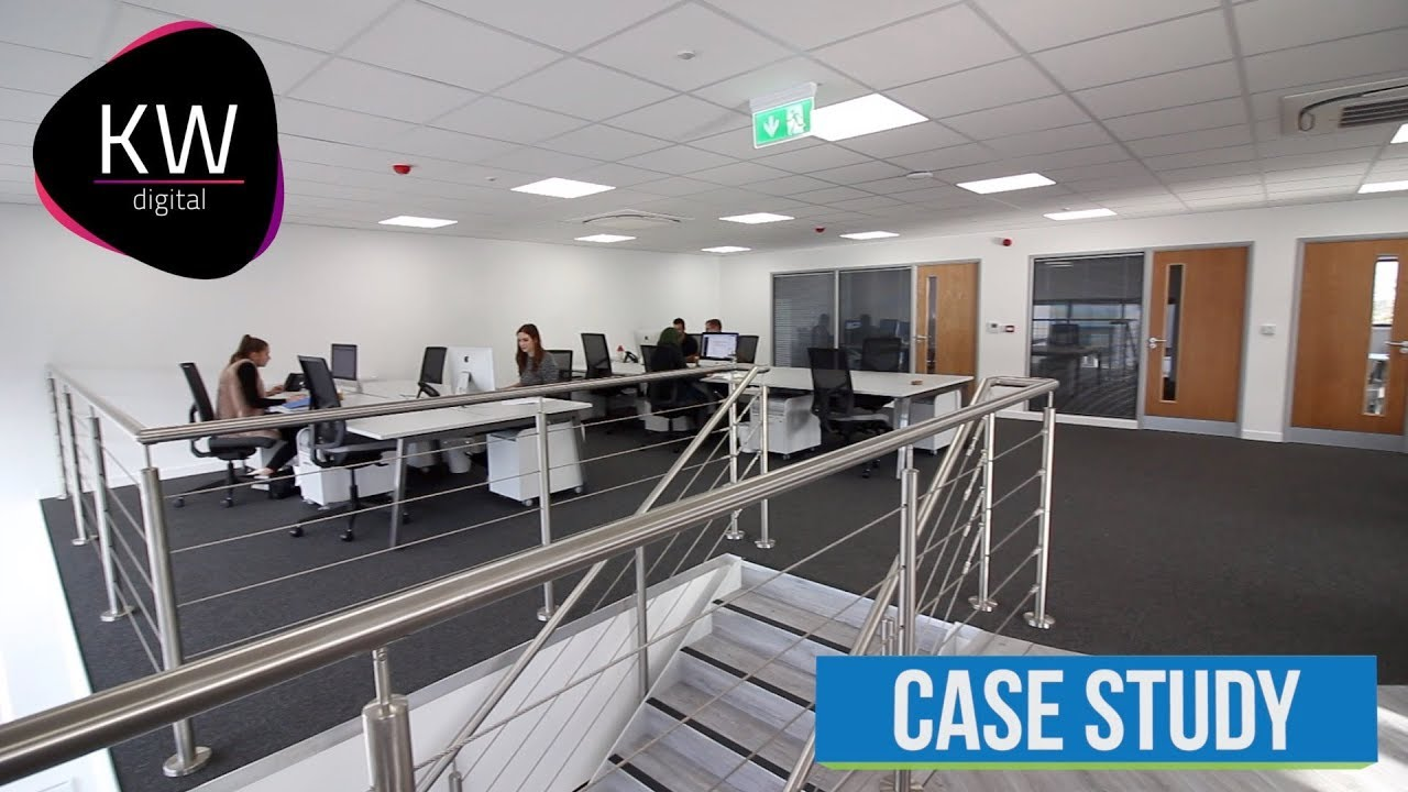 office mezzanine. Office Mezzanine Floor Fit Out - KW Digital Case Study Office Mezzanine