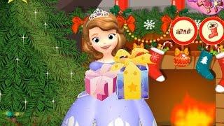NEW Игры для детей—Disney Принцесса София новогодняя елка—Мультик Онлайн видео игры для девочек