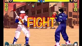Rival Schools (PlayStation) Arcade as Shoma/Natsu