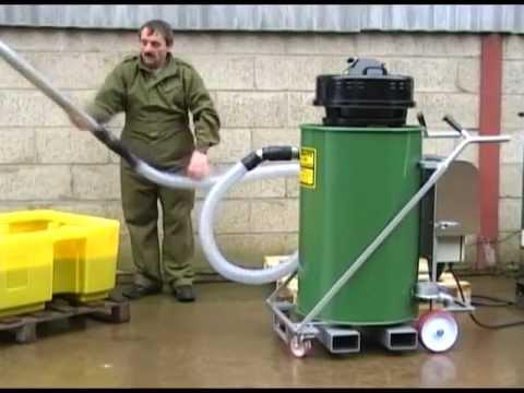 Suck and pump vacuum